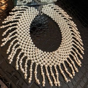 VERY STYLISH PAERL NECKLACE!!!💕💕💕